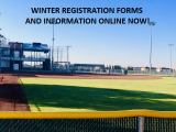 WINTER REGISTRATION FORMS