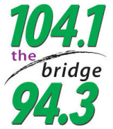 104.1 The Bridge Logo