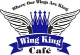 Wing King Cafe Logo