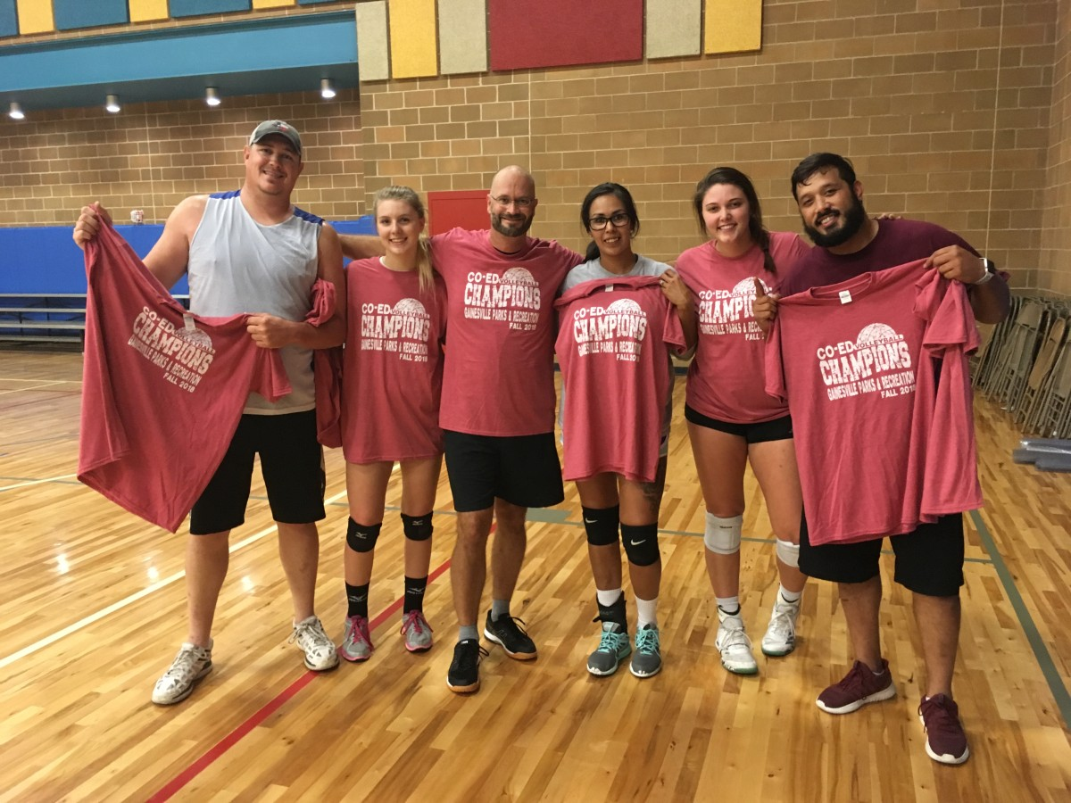2018 Fall Volleyball Champs Pic