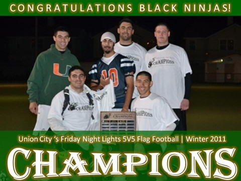 5v5 Adult Flag Football League Flag Football - Adult - Winter 2011